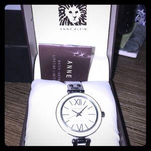 New White Anne Klein Bracelet Watch